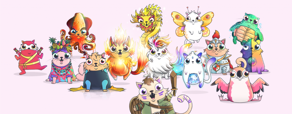 cryptokitties-สนุก