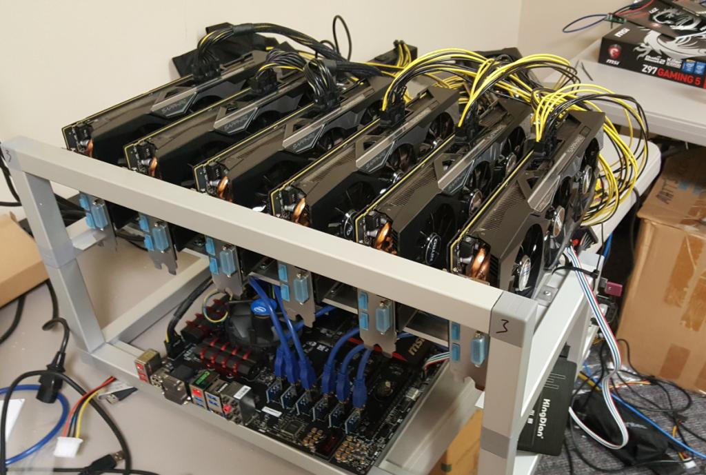 ขุด-bitcoin-การ์ดจอ